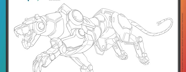 Voltron Coloring Pages Voltron Legendary Defender