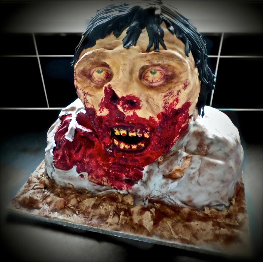 Zombie Birthday Cake Cakecentral
