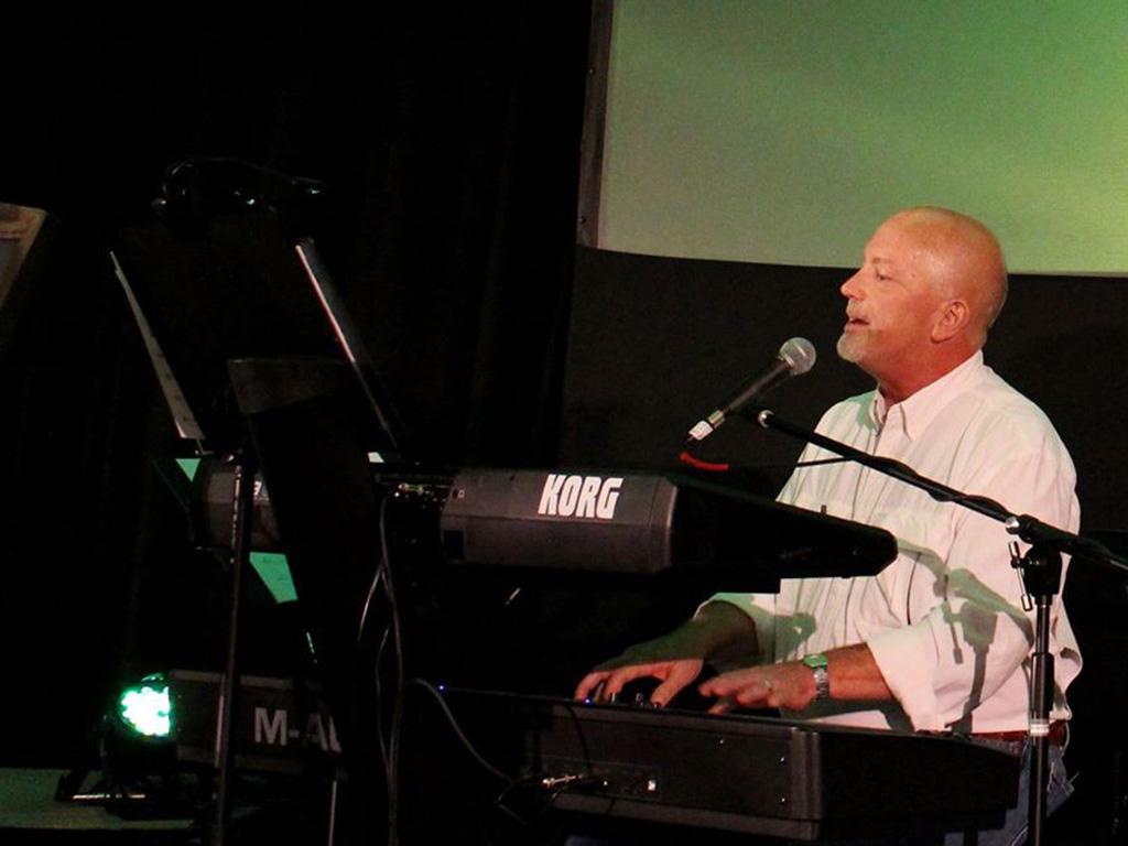 Performing live at Estes Park