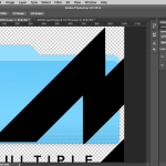 Photoshop pasted MAME logo