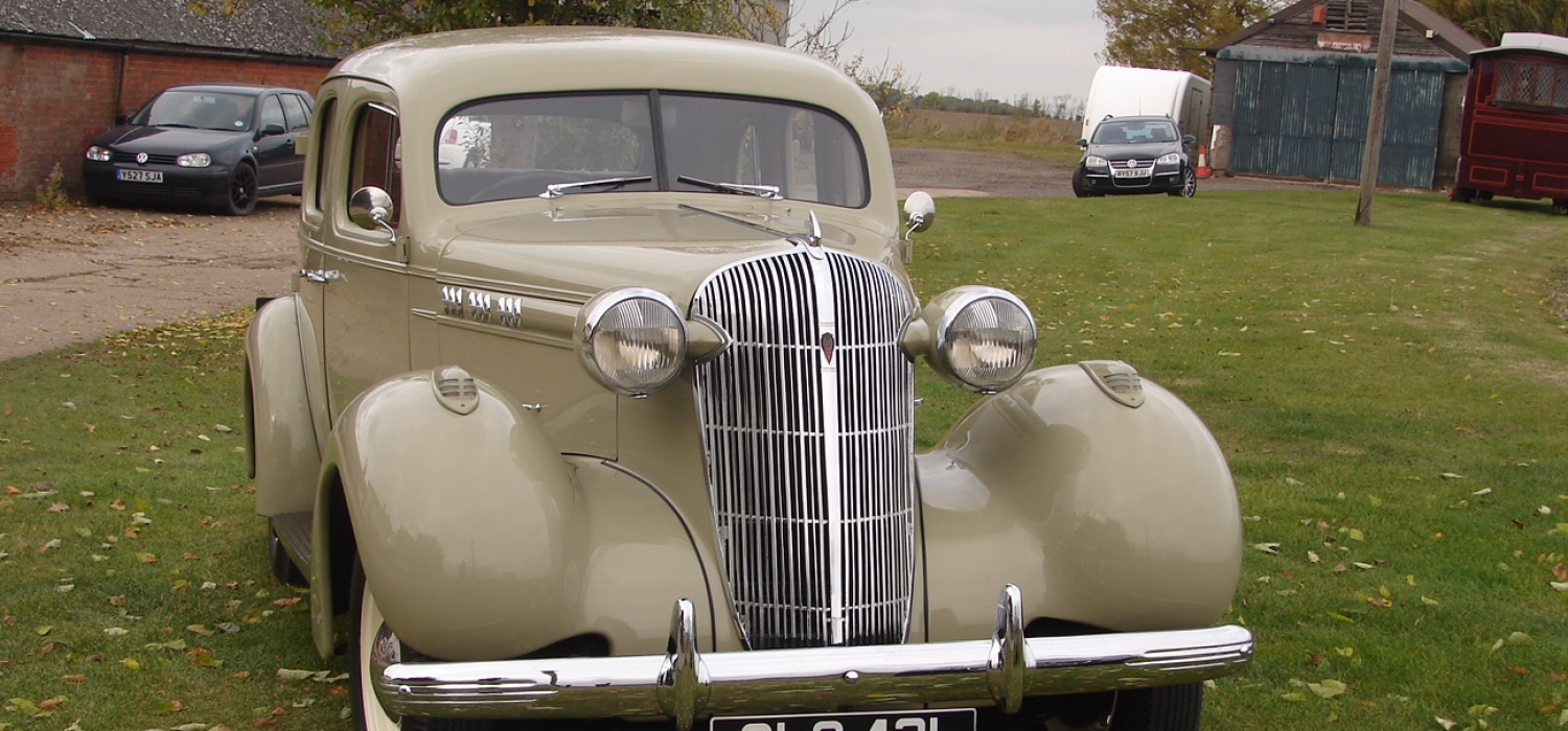 Oldsmobile F35 saloon American Car