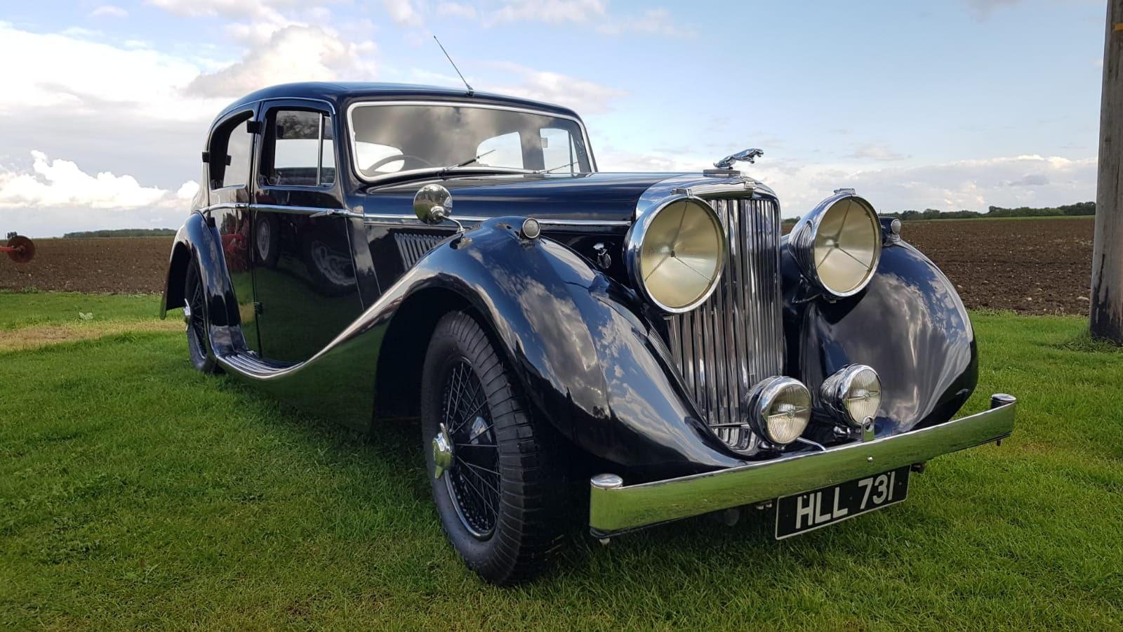 FOR SALE – 1946 Jaguar MK4 2.5 Litre
