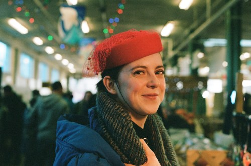 Red Hat Portrait