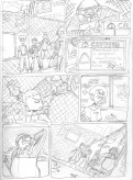 BR02 Comic Sketch Page
