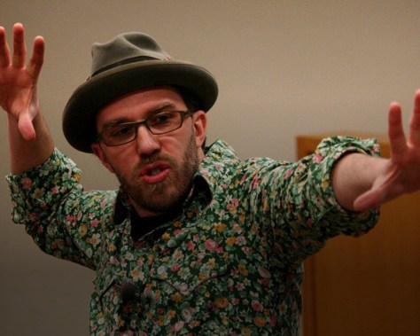 Dave Speaks! photo by Kris Krug