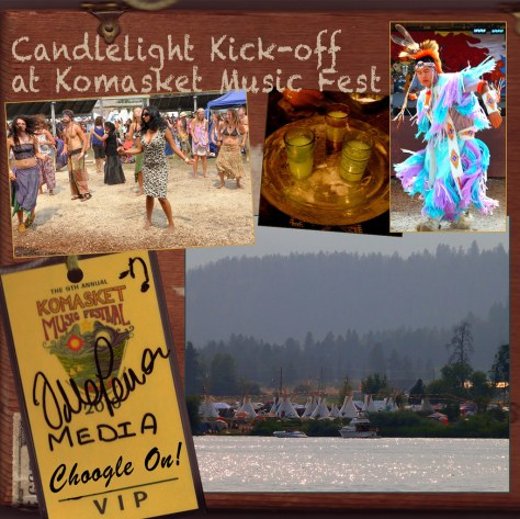 Candlelight Kick-off at Komasket Music Fest – Choogle On! #91