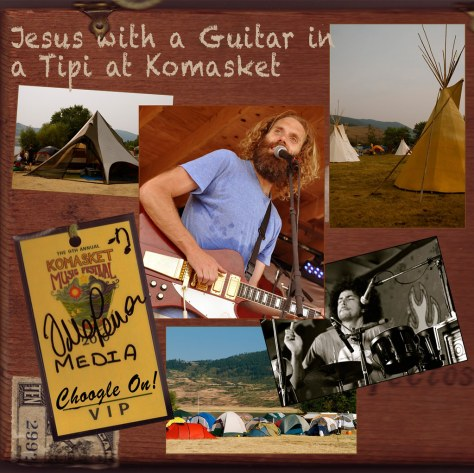 Jesus with a Guitar in a Tipi at Komasket – Choogle On! #92