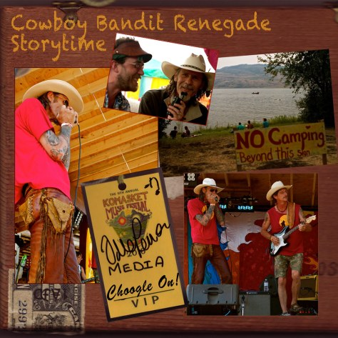 Cowboy Bandit Renegade Storytime at Komasket – Choogle On! #95