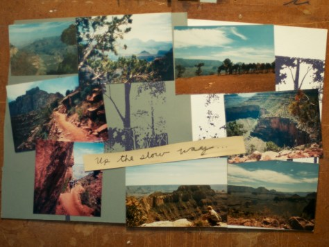 Up the slow way –Grand Canyon 3