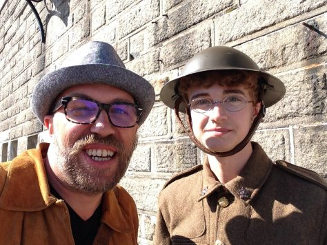 Citadel: These spectacled lads would likely not lasted long on front lines in the Great War