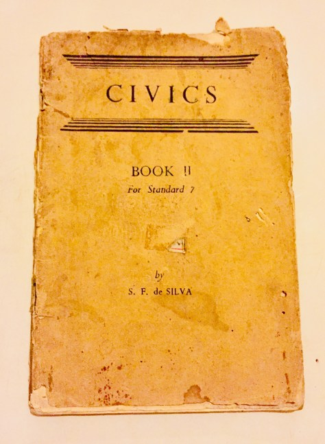 Civics, Book 2, for Standard 7 – Sri Lanka Books & Ledgers