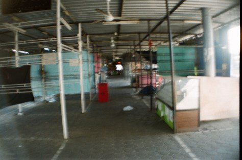 Towns and Trains: market, currently empty of vendors
