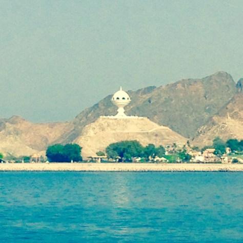 Pod bonus: postcards circumnavigation Oman