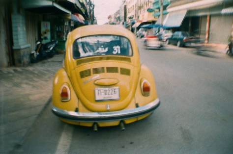 Scenes of Life in Phitsanulok: VW bug