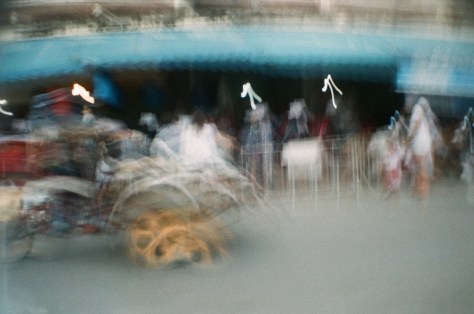 Scenes of Life in Phitsanulok: rolling by market