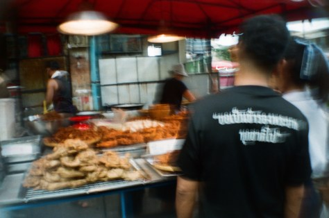 Scenes of Life in Phitsanulok: street meat