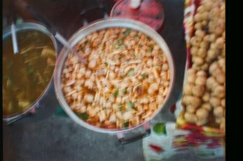 Scenes of Life in Phitsanulok: market food
