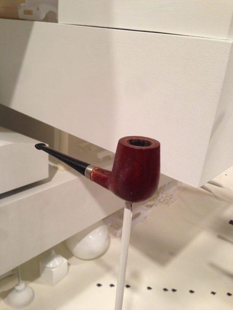 Charming tobacco pipe