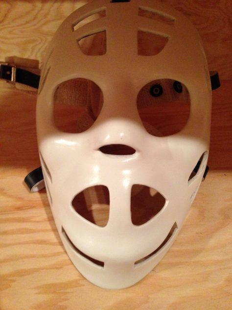 Old school goalie mask