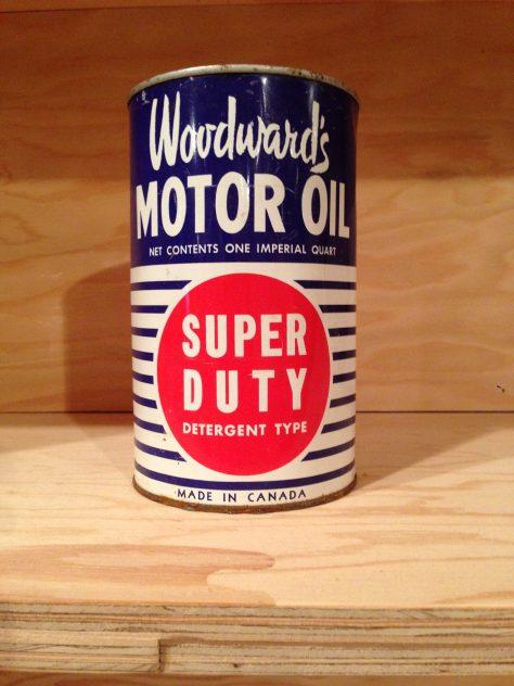 Woodward's Motor Oil