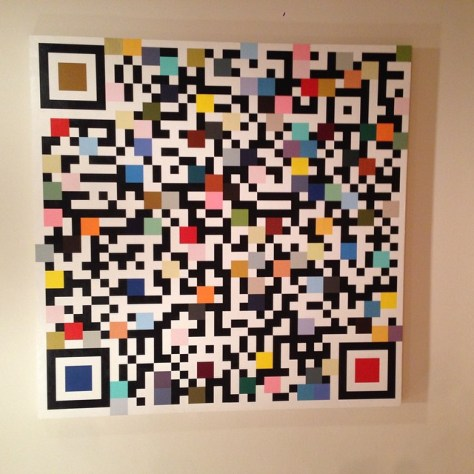 QR code for the head