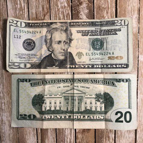 USA: Dollar (20 –front / back)