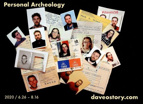 #daveo50 Personal Archeology Project / June 26 ~ Aug. 16