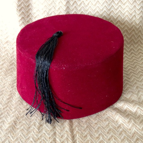 Hats: Turkey, Fez, red – acquired Istanbul market