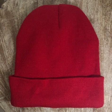 Hats: red toque (knit cap), (a la Steve Sissou crew)
