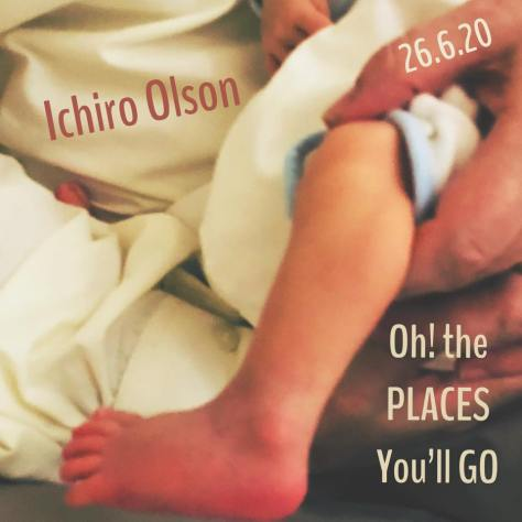 "Ichiro: card, #7 ""Oh! The places you'll go {Can I come with you? Good!}"" 26.6"