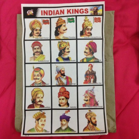 Indian Kings: India, Items Assembled