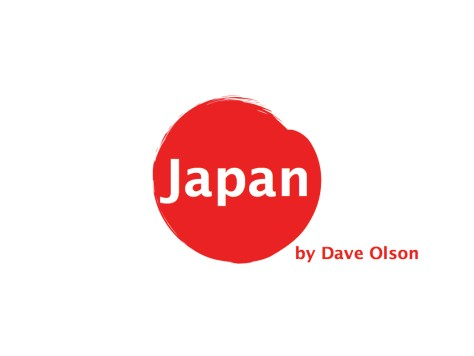 Inspire Japan Stories for Global Pecha Kucha Day by Dave Olson