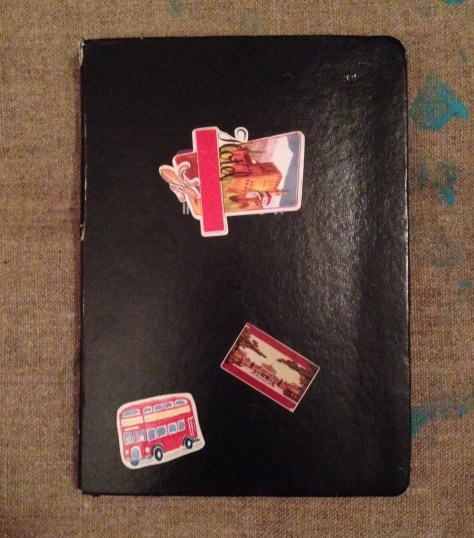 Journal: poetry etc., circa 2015-7 (black with stickers cover)