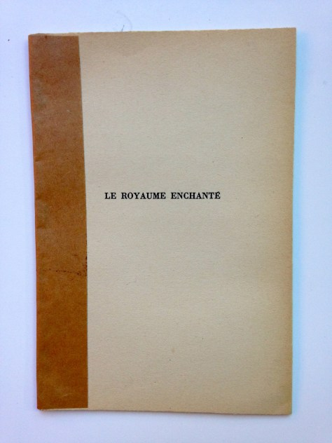 Journal: Montreal > Martimes, 2017 / poetry, musing, ephemera (front, Le Royalume Enchante by Billy M., Monastiraki)