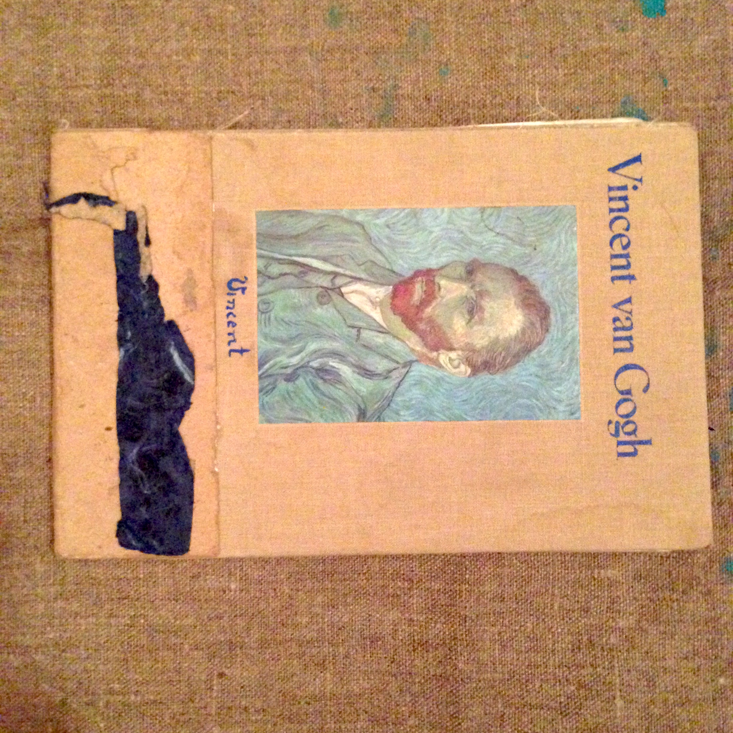 Scrapbook Assembly Van Gogh Ephemera Musings Etc Ca 2014