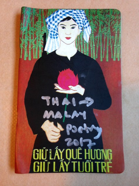 Journal: Thai > Malay / poetry, 2017 (lady with flower cover)