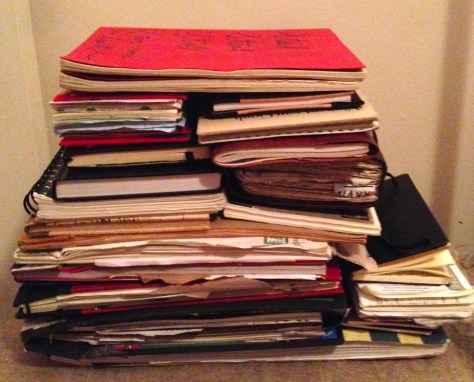 Collection: Scrapbooks, Journals and Notebooks (view 2)