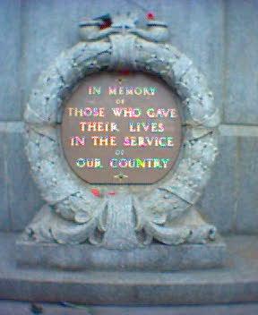 Victory Square Vancouver Cenotaph Plaque