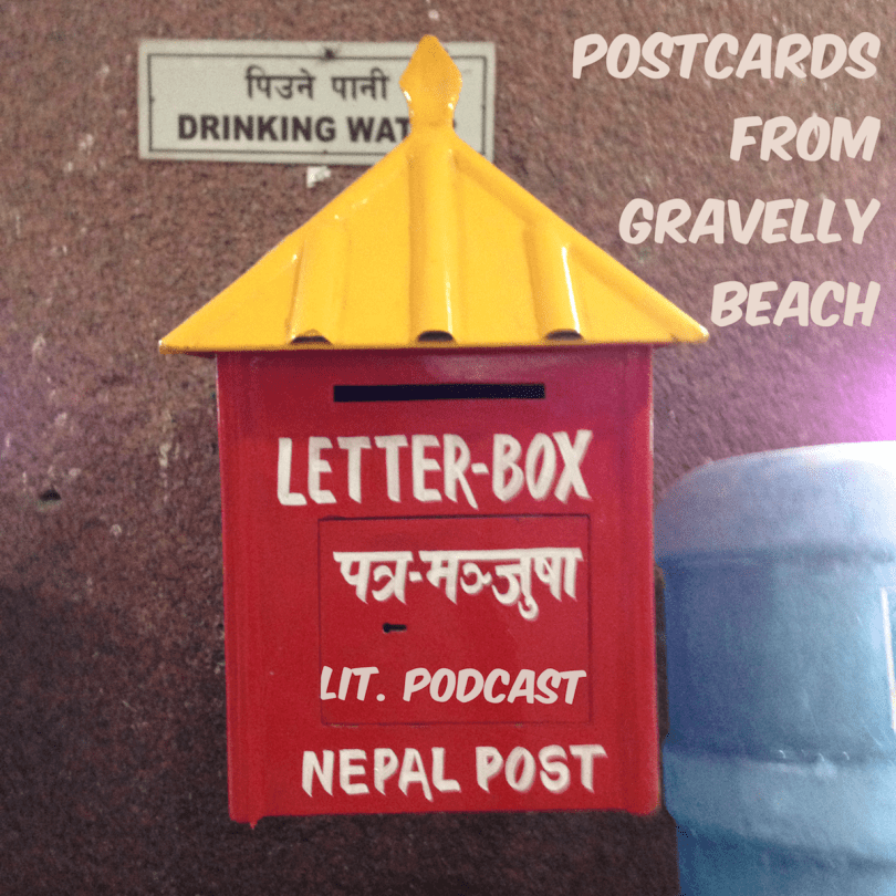 Postcards from Gravelly Beach - Red Nepal Postbox