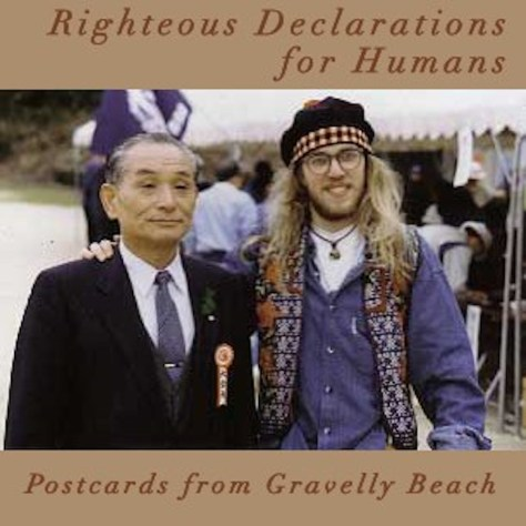 Pod cover - Postcards from Gravelly Beach - Righteous declarations