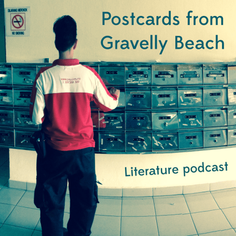 Postcard from Gravelly Beach - Silver Malaysian postboxes