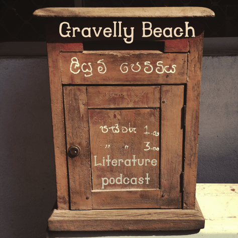 Postcards from Gravelly Beach - Wood Sri Lanka postbox