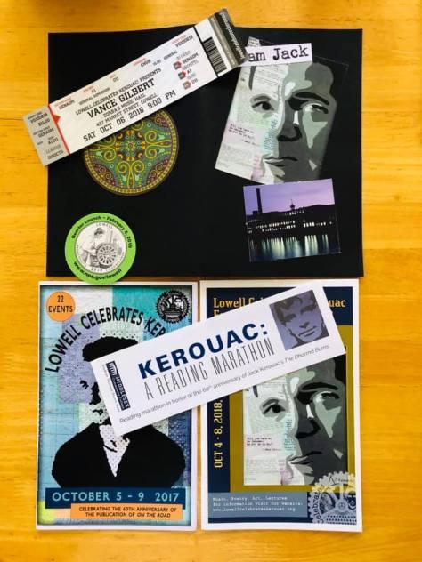 Kerouac postal pack Lowell Massachusetts