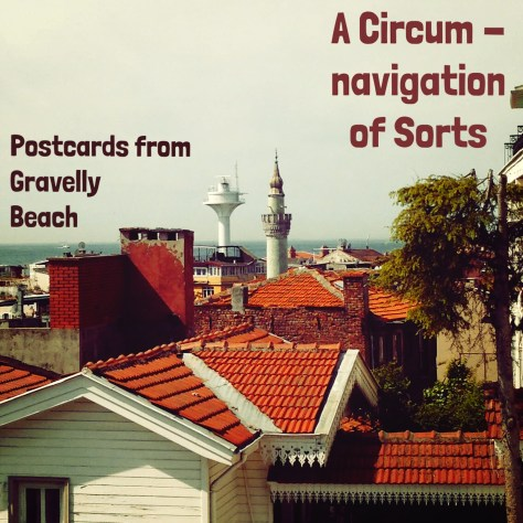 Pod cover: Postcards circumnavigation