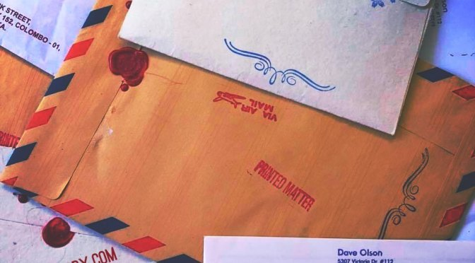 Post'd: wax seals and inky stamps help expedite (pro tip)