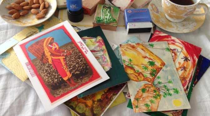 Post'd: Still life with postcards and tea (Sri Lanka – formerly Ceylon)