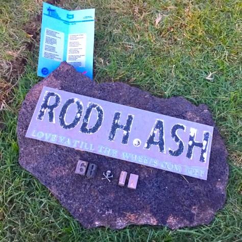rod ash poem grave