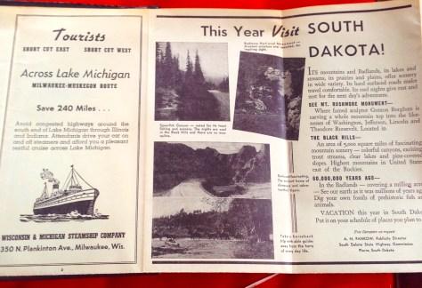 Scrapbook: Fck Stats, Make Art workbook, 2015 / Indonesia > Thailand (visit South Dakota inside back cover)