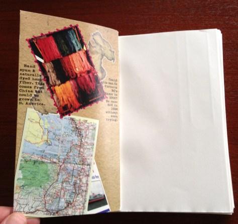 Scrapbook: assembly / HempenRoad (inside cover + block)