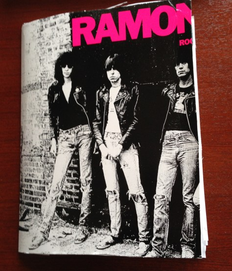 Scrapbook: assembly / Ramones (front cover)